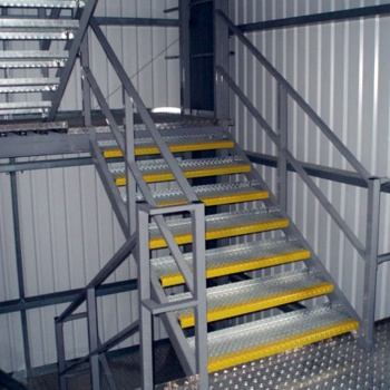 Industrial Stair Case